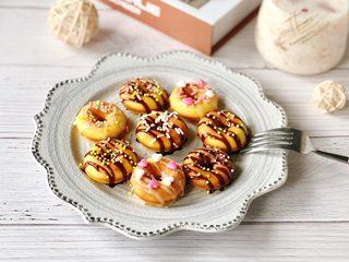 颜值爆表的甜甜圈&美容养颜的桃胶雪燕牛奶