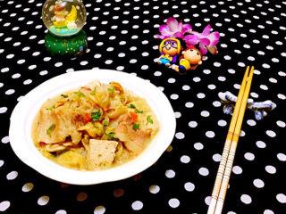 白菜炖豆腐,每次做这道美味我家都是光盘行动噢