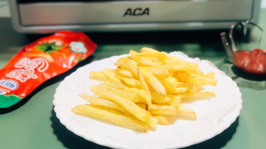 健康炸薯条