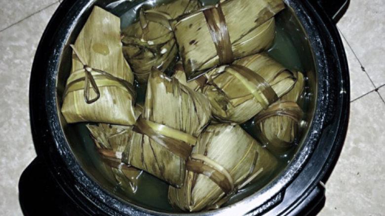 红豆粽子,粽子熟了…