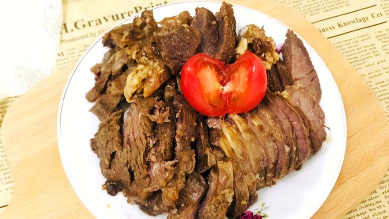 五香酱牛肉,非常美味的五香牛肉