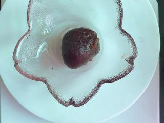 红豆粽子,分成20g一个