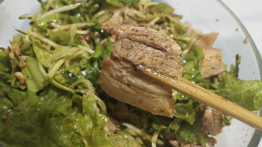 夏季冷吃荤菜—蒜泥白肉