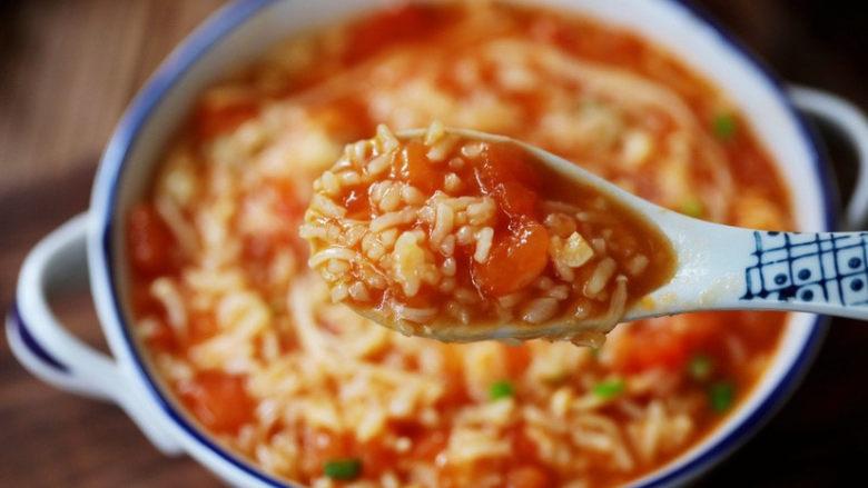 番茄金针菇烩饭,图三