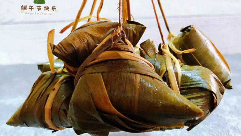 红豆粽子,生活需要仪式感在忙也要为自己和家人包粽子感觉这就是幸福的人生