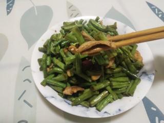 四季豆炒肉(长豆角)