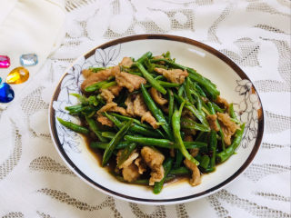 四季豆炒肉