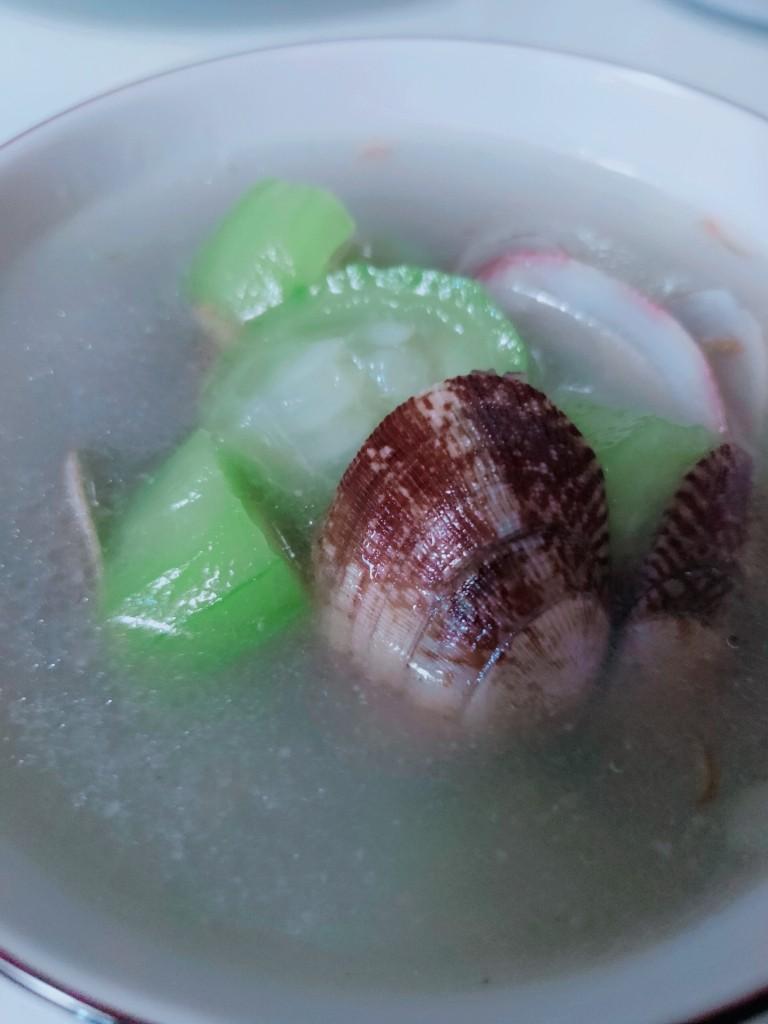 丝瓜花蛤汤,丝瓜花蛤汤