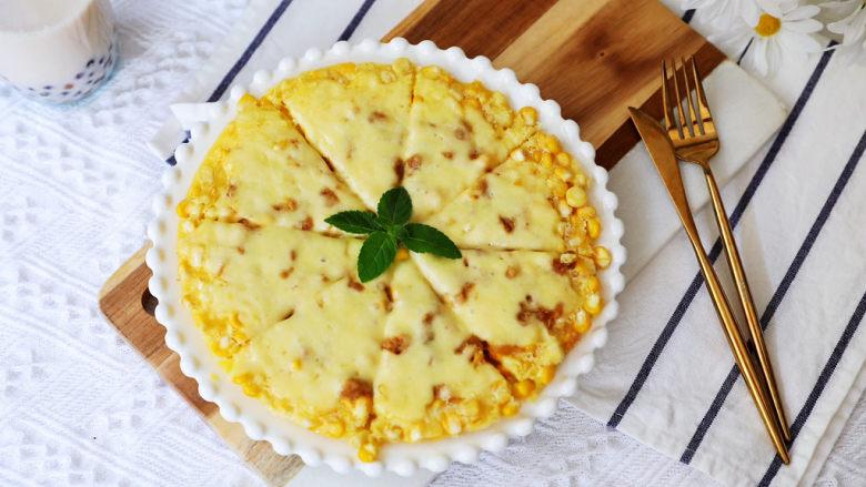 黃金芝士玉米烙