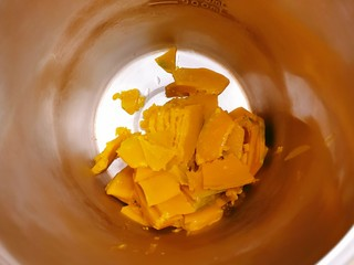 奶油南瓜汤,放入豆浆机内胆里