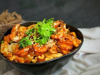 美味佳肴虾锅