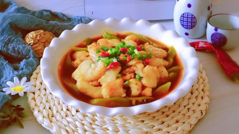 水煮龍利魚