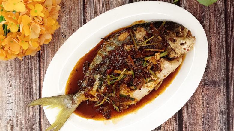 红烧王特鲳鱼