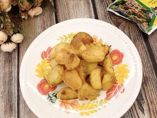 孜然烤土豆(无油版)