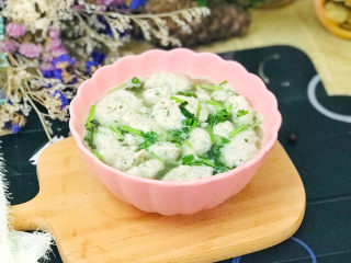 美味的鱼丸汤