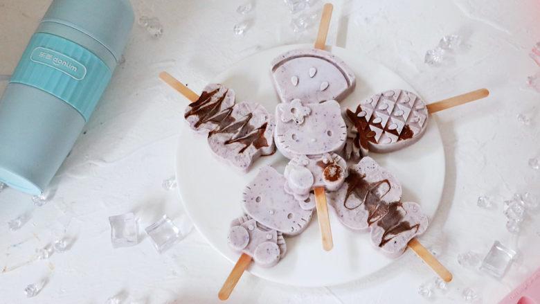 蓝莓酸奶雪糕,图二