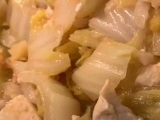 娃娃菜炖豆腐