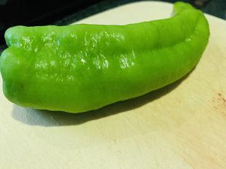 青椒炒猪肝,青椒,待用