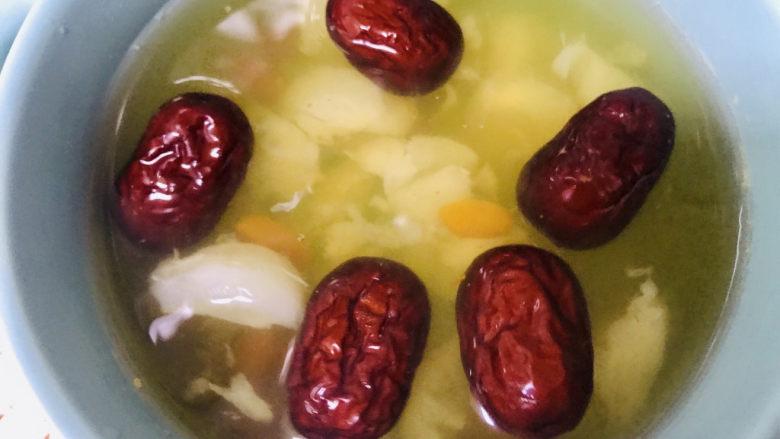 荔枝红枣甜汤
