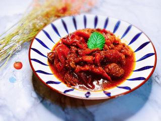 番茄牛腩煲,番茄牛腩煲完成