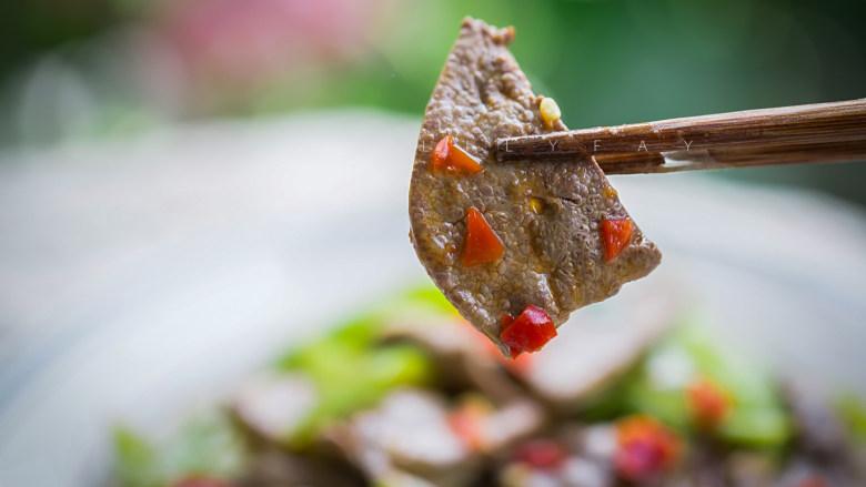 青椒炒猪肝,成品4