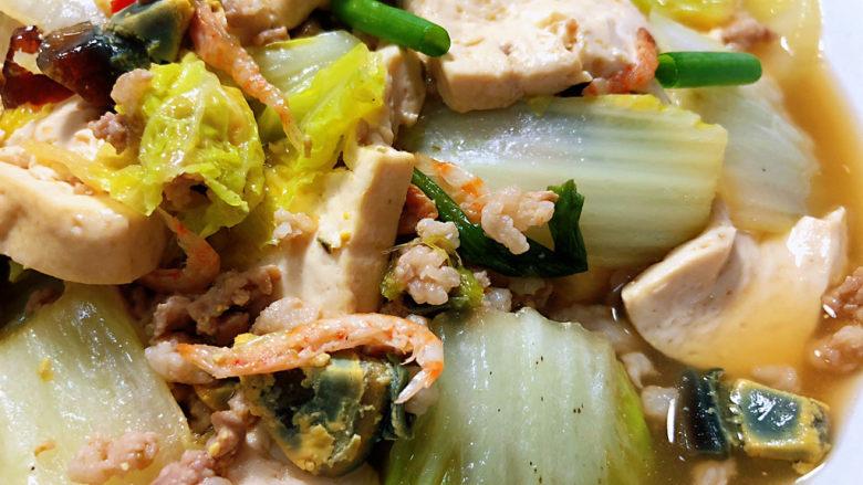 娃娃菜炖豆腐➕拂堤杨柳醉春烟,这道娃娃菜炖豆腐,做法简单,咸鲜味美,娃娃菜吸满汤汁,豆腐滑嫩入味,喜欢的小伙伴们一起来试试吧😄