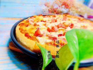 培根火腿披萨