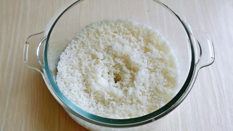 日式肥牛饭,这时米饭也好啦!