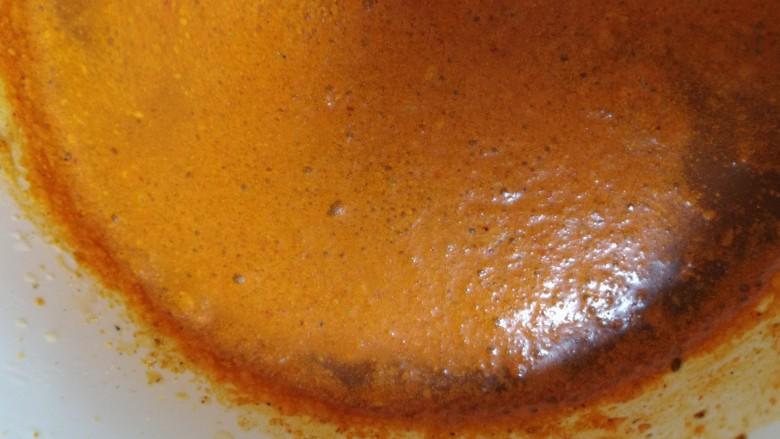 新奥尔良烤鸡腿,搅拌均匀。