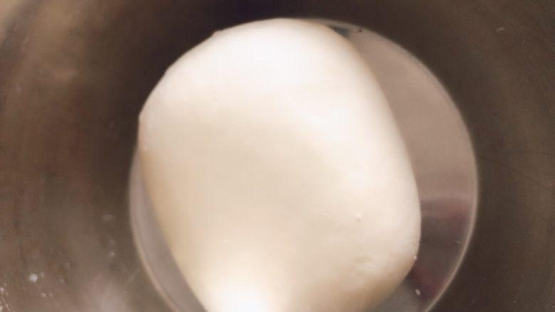 香肠馒头卷,揉成面团