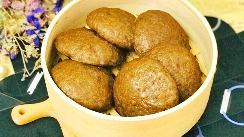 荞麦馒头,一天吃一个粗粮馒头,可以很好地补充营养