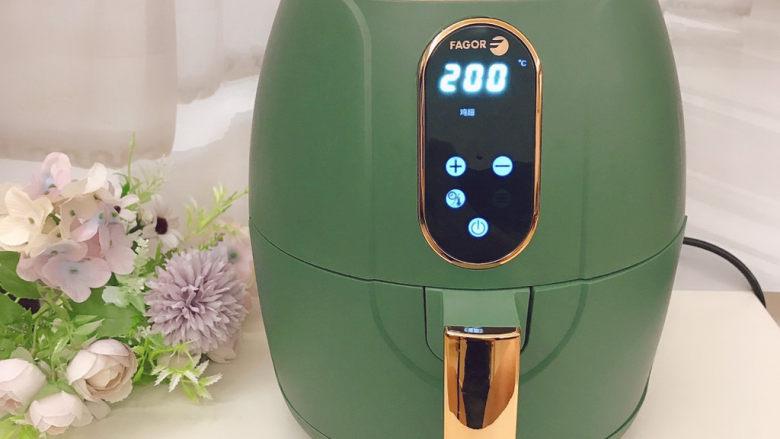 蒜香烤排骨,200度15分钟