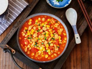 茄汁玉米鸡丁,图二