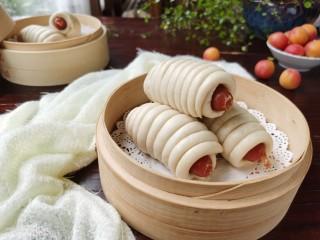 香肠馒头卷,喜欢的试试吧!