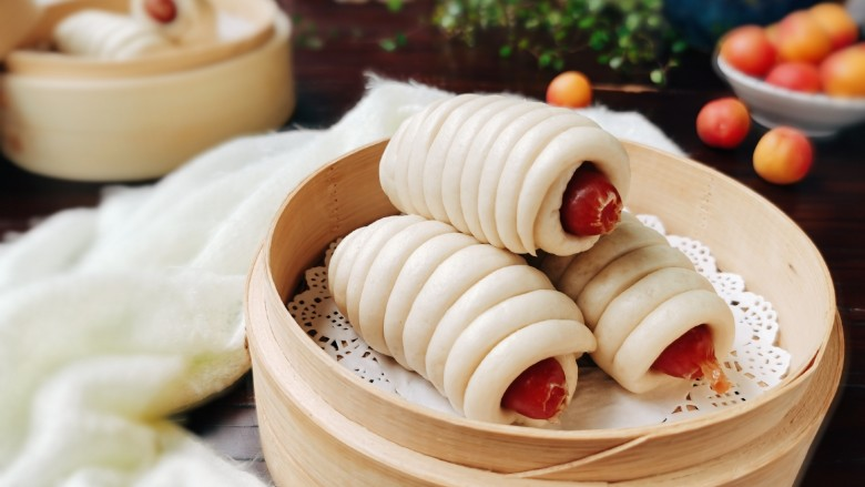 香肠馒头卷
