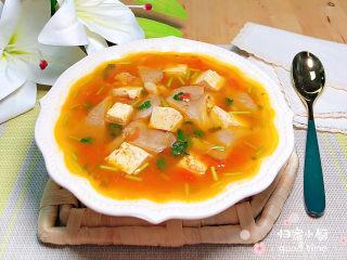 平菇豆腐汤,夏日炎炎,可以治愈你的胃!