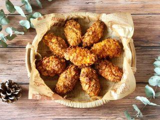 网红薯片鸡翅,不加一滴油也能外脆里嫩又多汁