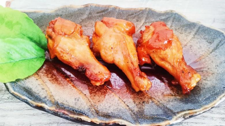 新奥尔良烤鸡腿,新奥尔良烤鸡腿成品图