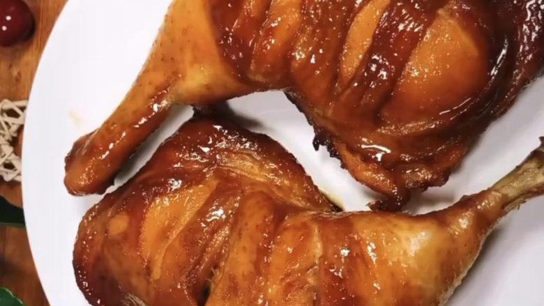 新奥尔良烤鸡腿,美味出炉,就这个烤鸡腿,烤的时候满屋子香味