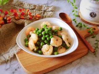 豌豆炒虾仁