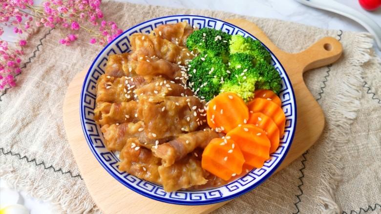 日式肥牛饭,是不是很简单呢?
