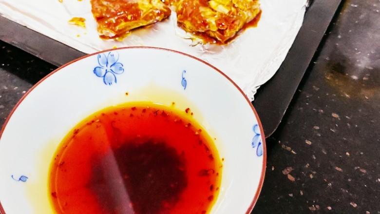 蒜香烤排骨,准备辣椒油