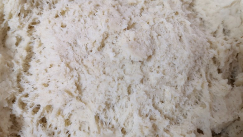 荞麦馒头,一个小时左右就发酵好了。