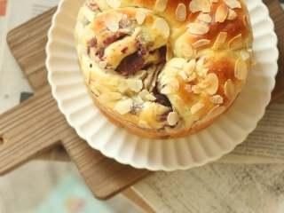 紫薯手撕面包