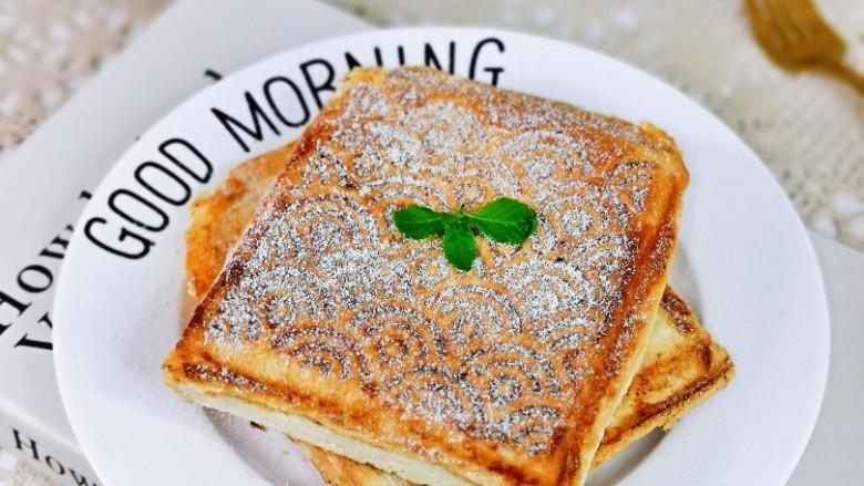 芝士火腿三明治,简单快手早餐,作为早餐是不是超赞呀!