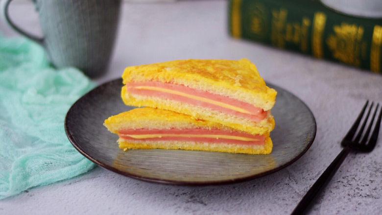 芝士火腿三明治,图二