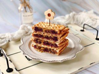 紫薯肉松芝士三明