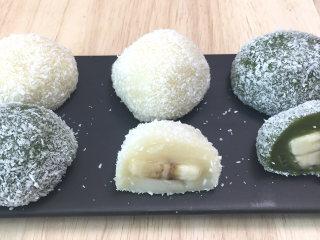 超级好吃的水果糯米糍,香甜弹牙、果香浓郁,简单方便的零基础甜品。