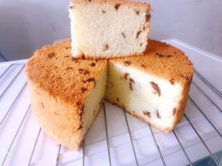 8寸椰蓉红枣戚风蛋糕