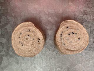 不一样的面包 蒸面包,切开